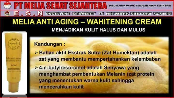 Image result for cara pakai melia anti aging