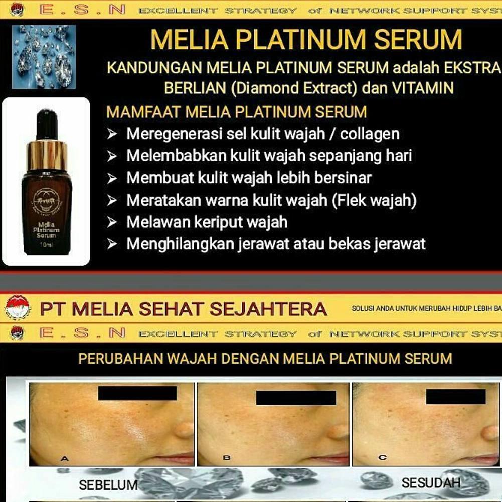 Image result for cara pakai melia platinum serum